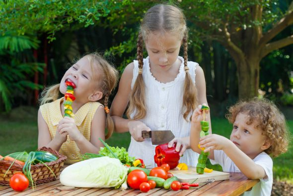 Raising Your Child Vegetarian/Vegan