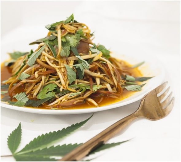 This Year's Hottest Culinary Trend? Cannabis!